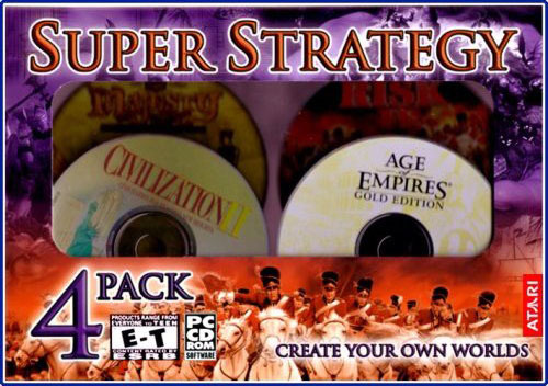 Super Strategy 4 Pack for PC Games