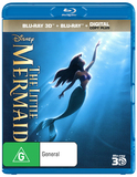 The Little Mermaid 3D DVD