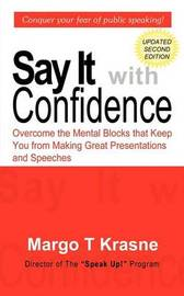 Say It with Confidence by Margo T. Krasne image