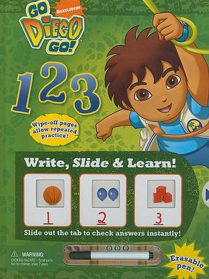 Write, Slide & Learn! Go Diego Go! 123 image