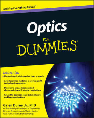 Optics For Dummies by Galen C. Duree