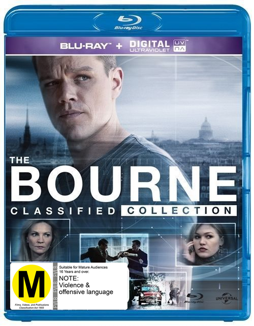 The Bourne Quadrilogy on Blu-ray