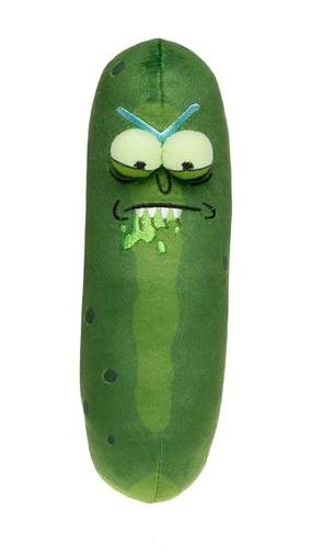 "Rick & Morty: Pickle Rick 7"" Plush - Biting Lip"