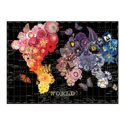 Galison: 1000 Piece Puzzle - Wendy Gold Full Bloom