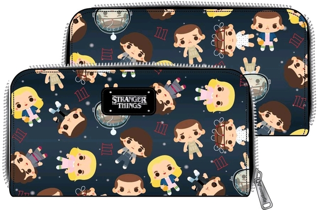 Loungefly: Stranger Things - Eleven Chibi Faux Leather Wallet