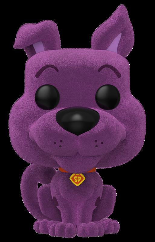 Scooby Doo (Purple Flocked) - Pop! Vinyl Figure