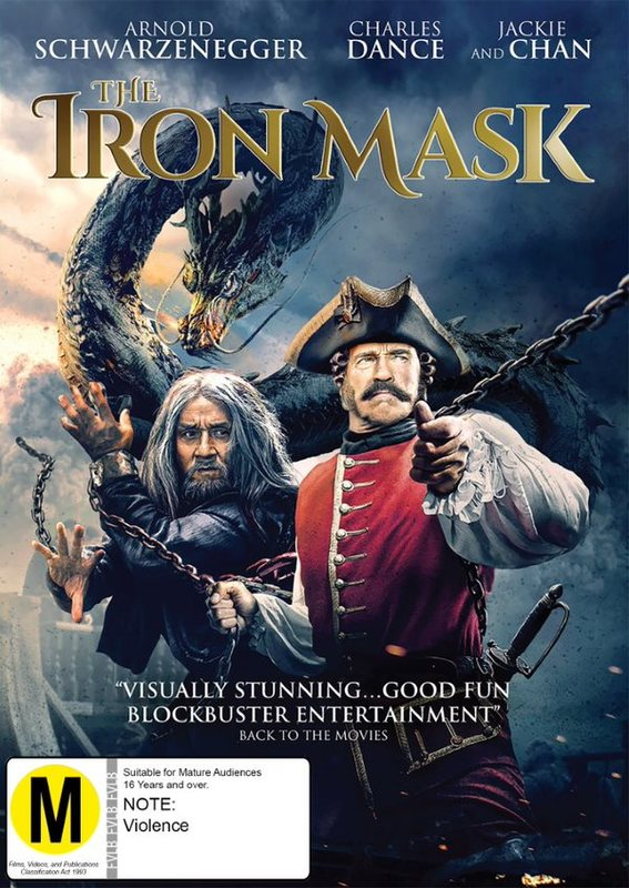 The Iron Mask on DVD