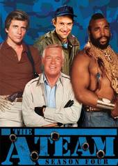 The A-Team - Season 4 (6 Disc Box Set) on DVD