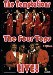 Temptations and the Four Tops Live on DVD