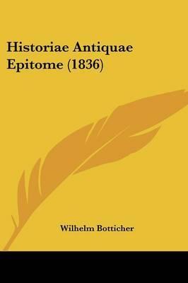 Historiae Antiquae Epitome (1836) image