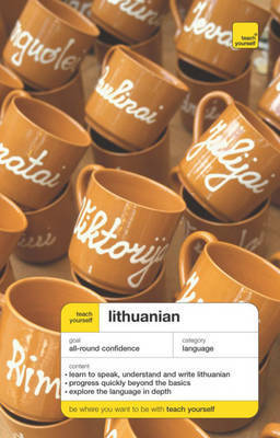 Teach Yourself Lithuanian by Meilute Ramoniene