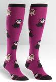 Womens - Pug Life Knee High Socks