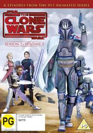 Star Wars: The Clone Wars: Season 2 - Volume 3 on DVD