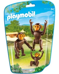 Playmobil: Zoo Theme - Chimpanzee Family (6650)