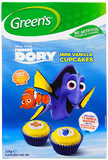 Green's Finding Dory Cupcakes