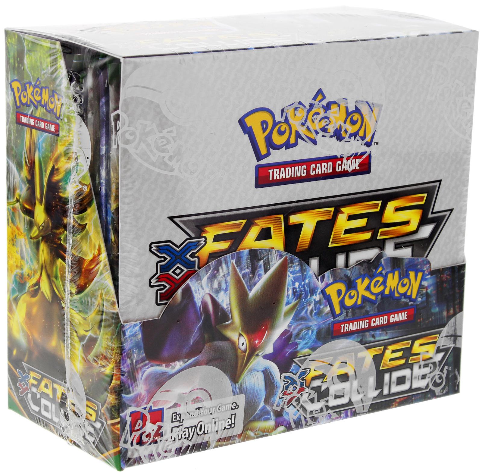 XY Fates Collide Sealed Booster Box Pokemon TCG