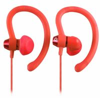 Moki 90 degree Sports Earphones - Peach