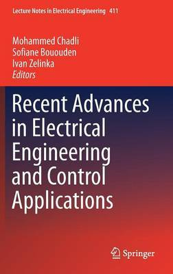 Recent Advances in Electrical Engineering and Control Applications image