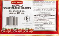 Kervan: Sour Peach Hearts (2kg)