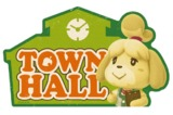Animal Crossing: Travel Luggage Sticker - Town Hall #1
