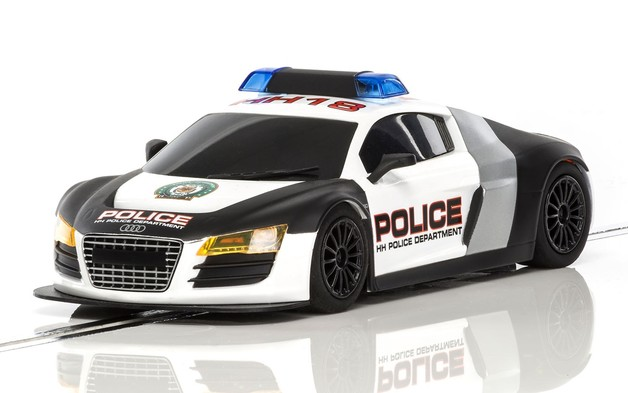 Scalextric: Audi R8 Police Slot Car