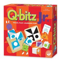 Mindware Games: Q-bitz Jr. - Visual Learning Game