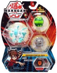 Bakugan: Battle Planet - Starter Pack (Haos Nobilious)
