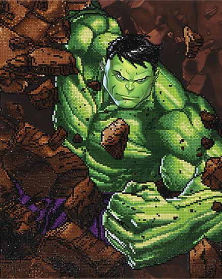 Diamond Dotz: Facet Art Kit - Hulk: Smash!