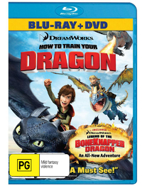 How to Train Your Dragon on DVD, Blu-ray
