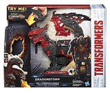 Transformers: The Last Knight - Mega 1-Step Turbo Changer - Dragonstorm