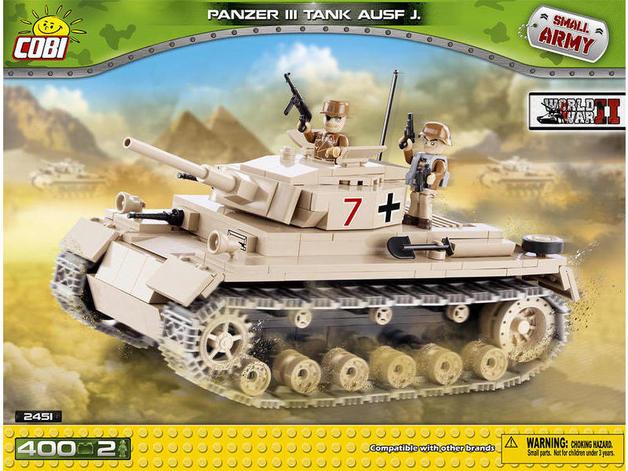 Cobi: World War 2 - Panzer Tank ausf  J | Toy | at Mighty Ape