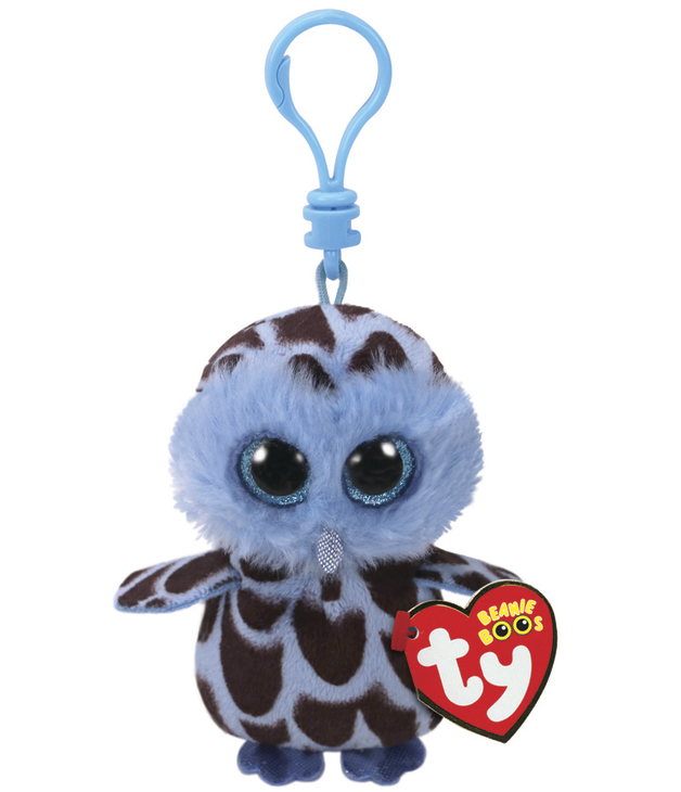 Ty Beanie Boos: Yago Owl - Clip On Plush