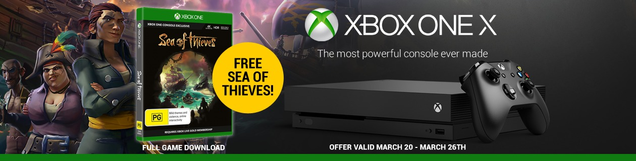 Xbox + Sea of Thieves