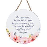 Empowerment Hanging Sign - Daughter