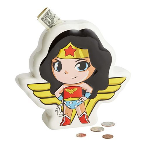 DC Comics Superfriends Wonder Woman Bank