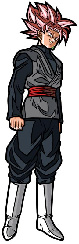 Dragon Ball Super: SS Rose Goku Black (#) - Collectors FiGPiN