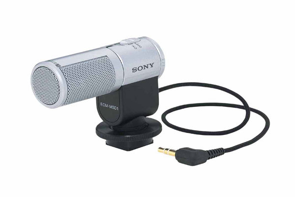 Sony Microphone Compact Stereo (Cold Accessory Shoe) ECMMSD1