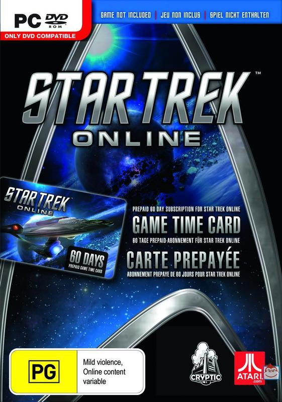 Star Trek Online 60 Day Timecard for PC Games