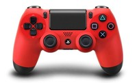 PlayStation 4 Dual Shock 4 v2 Wireless Controller - Magma Red for PS4
