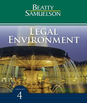 Legal Environment by Jeffrey Beatty image