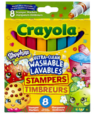 Crayola: Shopkins Stamp Marker - 8 Pack