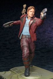Marvel: 1/6 Star-Lord with Groot Artfx PVC Figure