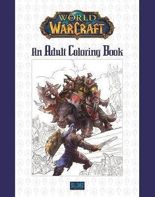 World of Warcraft: An Adult Coloring Book by Blizzard Entertainment image