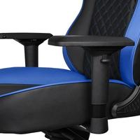 Thermaltake GT Comfort Gaming Chair (Blue and Black) for
