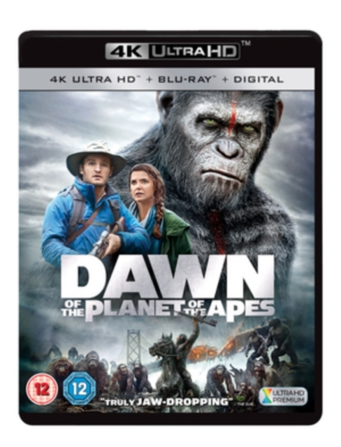 Dawn of the Planet of the Apes on UHD Blu-ray