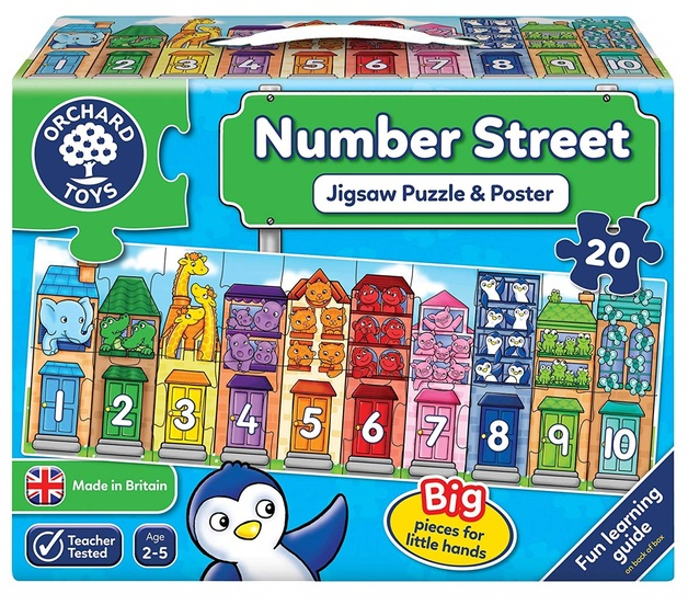 Orchard Toys: Number Street - Jigsaw Puzzle Set