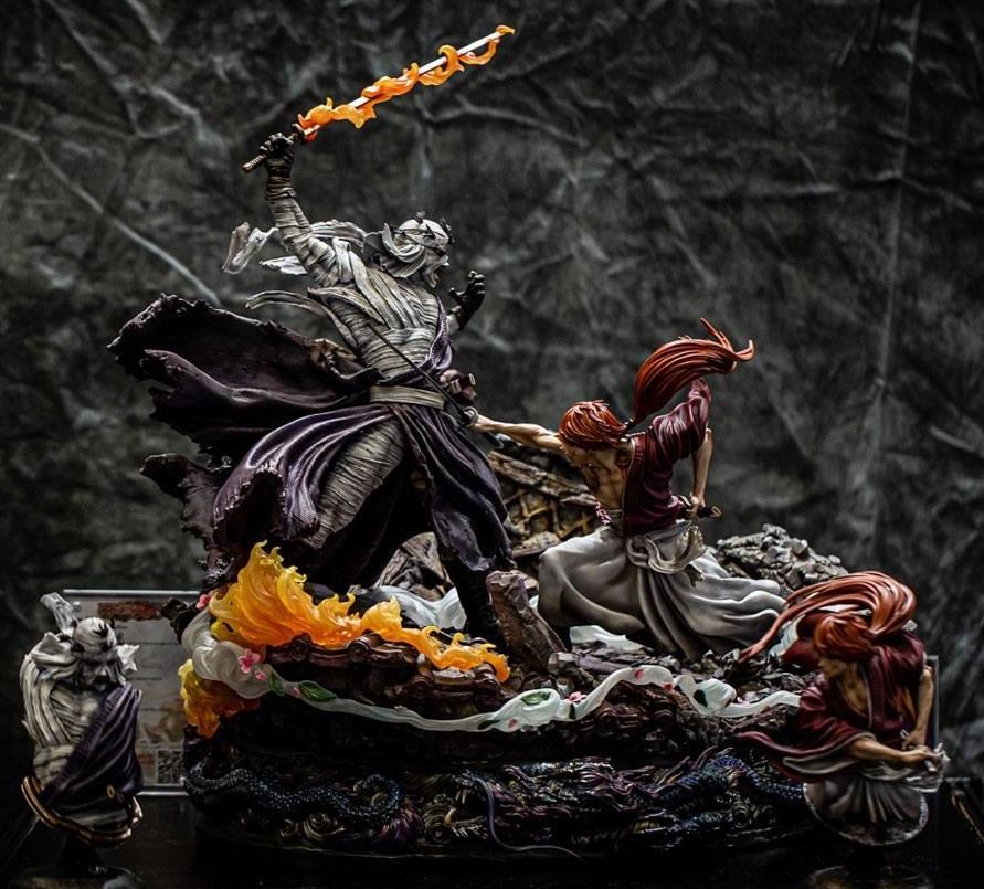 """Rurouni Kenshin: Kenshin vs. Shishio - 23"""" Elite Fandom Diorama image"""