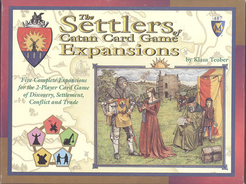 The Settlers Of Catan Card Game Expansions (5 Expansion Set) image