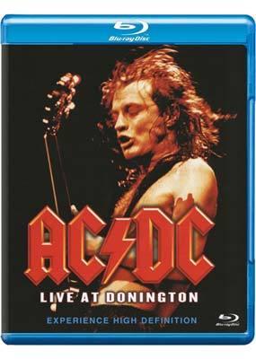 AC/DC - Live At Donington on Blu-ray