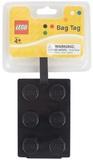 LEGO Stationery - Luggage Bag Tag Brick Shape (Black)